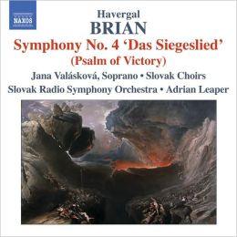 Havergal Brian: Symphony No. 4