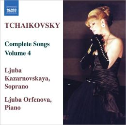 Tchaikovsky: Complete Songs, Vol. 4