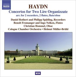 Haydn: Concertos for Two Lire Oganizzate