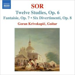 Fernando Sor: Twelve Studies; Fantasie; Six Divertimenti