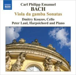 C.P.E. Bach: Viola da gamba Sonatas