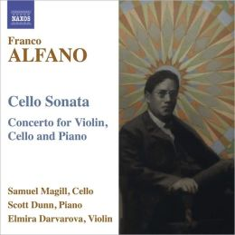 Alfano: Cello Sonata