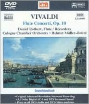 Vivaldi: Flute Concerti, Op. 10 [DVD Audio]