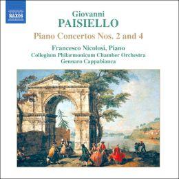 Giovanni Paisiello: Piano Concertos Nos. 2 & 4