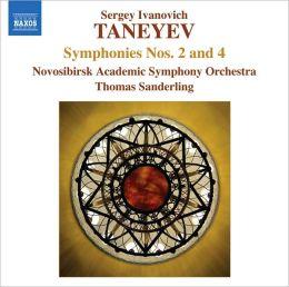 Taneyev: Symphonies Nos. 2 & 4