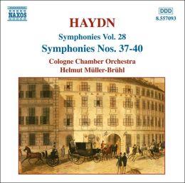 Haydn: Symphonies Nos. 37 - 40