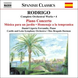 Rodrigo: Complete Orchestral Works, Vol. 4