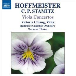 Hoffmeister, C.P. Stamitz: Viola Concertos