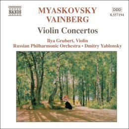 Myaskovsky, Vainberg: Violin Concertos