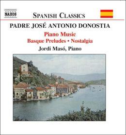 Padre José Antonio Donostia: Basque Preludes