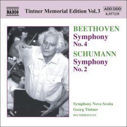 Beethoven: Symphony No. 4; Schumann: Symphony No. 2