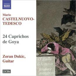 Mario Castelnuovo-Tedesco: 24 Caprichos de Goya