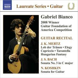 Gabriel Bianco: Guitar Recital