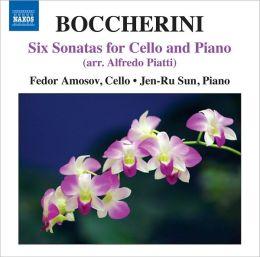 Boccherini: Six Sonatas for Cello and Piano