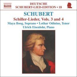 Schubert: Schiller-Lieder, Vols. 3 & 4