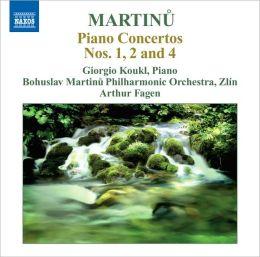 Martinu: Piano Concertos Nos. 1, 2 & 4
