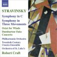 CD Cover Image. Title: Stravinsky: Symphony in C; Symphony in Three Movements; Octet for Winds; Dumbarton Oaks, Artist: Robert Craft