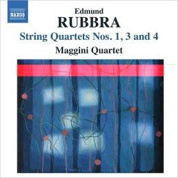 Edmund Rubbra: String Quartets Nos. 1, 3 & 4