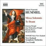 Hummel: Missa Solemnis; Te Deum