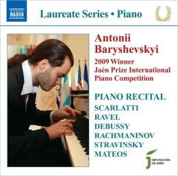 Antonii Baryshevskyi: Piano Recital