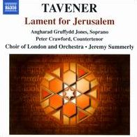 Tavener: Lament for Jerusalem