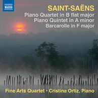 Saint-Saëns: Piano Quartet in B flat major; Piano Quintet in A minor; Barcarolle in F major