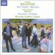 Giulio Regondi: Airs Variés; Rêveries; Johann Kaspar Mertz: Polonaises; Rondino