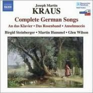 Joseph Martin Kraus: Complete German Songs