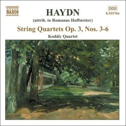 Haydn: String Quartet, Op. 3, Nos 3-6