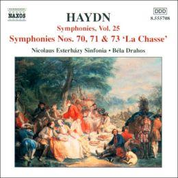 Haydn: Symphonies Nos. 70, 71 & 73