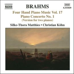 Brahms: Four Hand Piano Music, Vol. 17