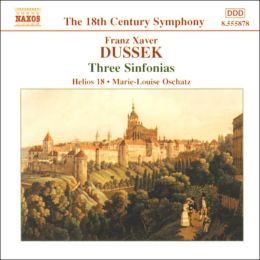 Dussek: Three Sinfonias