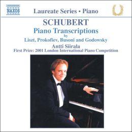 Schubert: Piano Transcriptions by Liszt, Prokofiev, Busoni & Godowsky