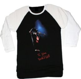 I Love Rock & Roll Baseball T-Shirt (Lgls) (Wl) (Joan Jett & The Blackhearts)