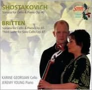 Shostakovich, Britten: Cello Sonatas