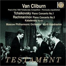 Tchaikovsky: Piano Concerto No. 1 / Rachmaninoff: Piano Concerto No. 3 / Kabalevsky: Rondo