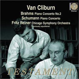 Brahms: Piano Concerto No. 2; Schumann: Piano Concerto