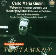 Webern: Six Pieces for Orchestra; Mussorgsky: Pictures at an Exhibition