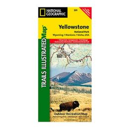 National Geographic 603101 201 Yellowstone National Park Wyoming