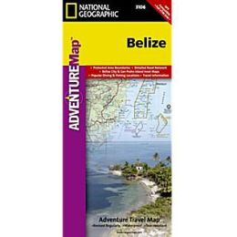 National Geographic Maps AD00003106 Belize