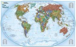National Geographic RE00620134 World Explorer - Laminated Map