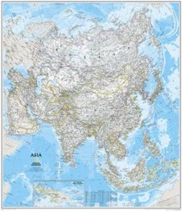 National Geographic RE00620145 Map Of Asia - Laminated