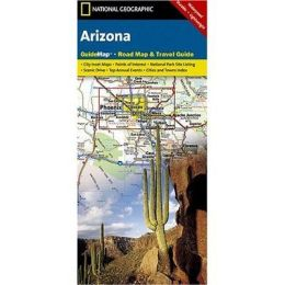 National Geographic GM01020310 Map Of Arizona
