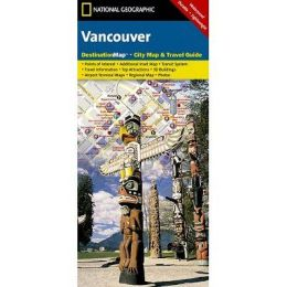 National Geographic DC01020312 Map Of Vancouver