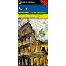 National Geographic DC01020330 Map Of Rome