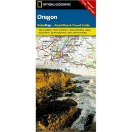 National Geographic GM00620390 Map Of Oregon