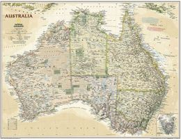 National Geographic Maps RE01020439 Australia Executive