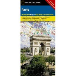 National Geographic DC00620512 Map Of Paris