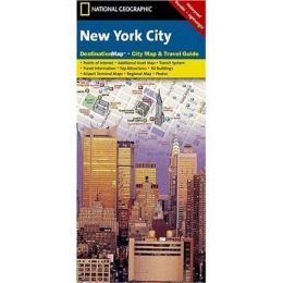 National Geographic DC00620552 Map Of New York City- New York