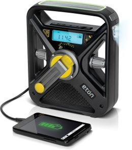 Eton NFRX3WXB Multi-Powered AM/FM/NOAA Weather Radio with LED Flashlight - Black